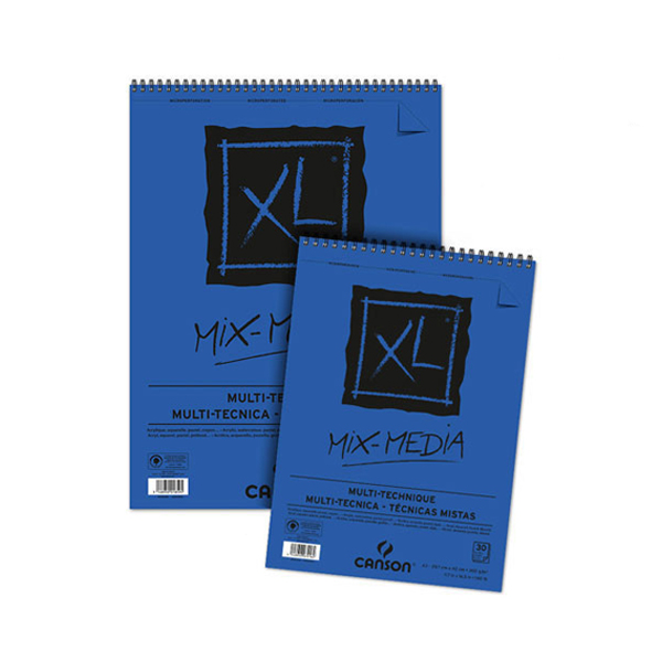 XL Pad Mix Media A4 300g/m2 30 pgs